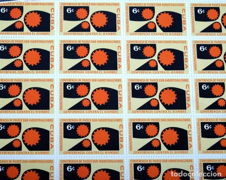 Sellos: 375 sellos cubanos en 11 pliegos. 1961/1970. Nuevos, con fijasello - Foto 4 - 180331002