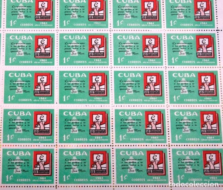 Sellos: 375 sellos cubanos en 11 pliegos. 1961/1970. Nuevos, con fijasello - Foto 6 - 180331002