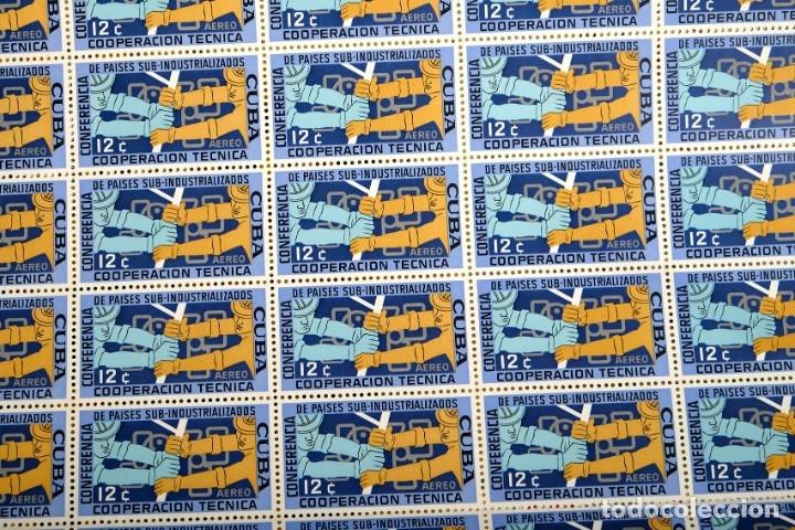Sellos: 375 sellos cubanos en 11 pliegos. 1961/1970. Nuevos, con fijasello - Foto 8 - 180331002