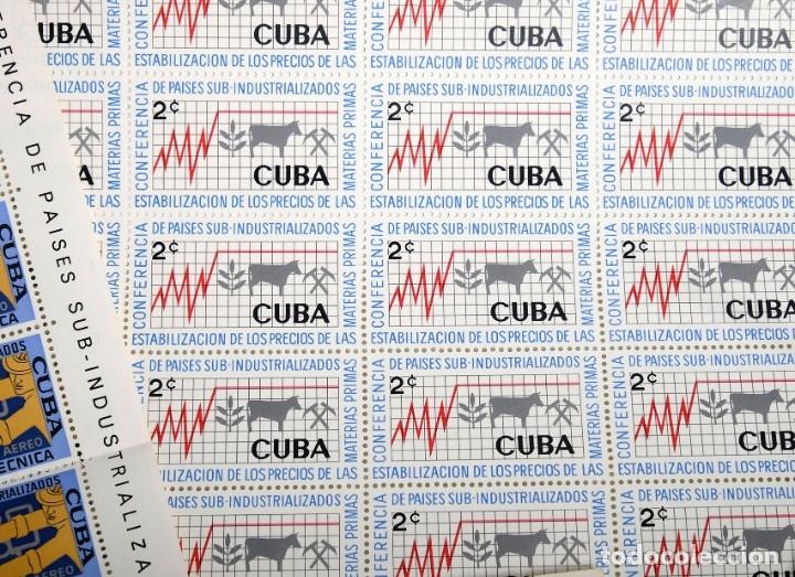 Sellos: 375 sellos cubanos en 11 pliegos. 1961/1970. Nuevos, con fijasello - Foto 10 - 180331002