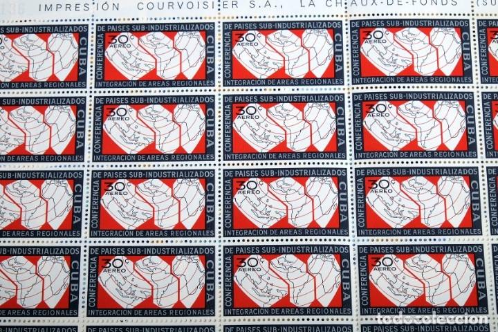 Sellos: 375 sellos cubanos en 11 pliegos. 1961/1970. Nuevos, con fijasello - Foto 12 - 180331002