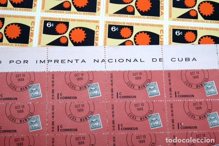 Sellos: 375 sellos cubanos en 11 pliegos. 1961/1970. Nuevos, con fijasello - Foto 13 - 180331002