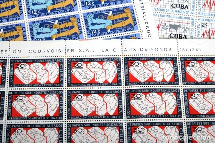 Sellos: 375 sellos cubanos en 11 pliegos. 1961/1970. Nuevos, con fijasello - Foto 14 - 180331002