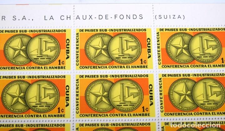 Sellos: 375 sellos cubanos en 11 pliegos. 1961/1970. Nuevos, con fijasello - Foto 15 - 180331002