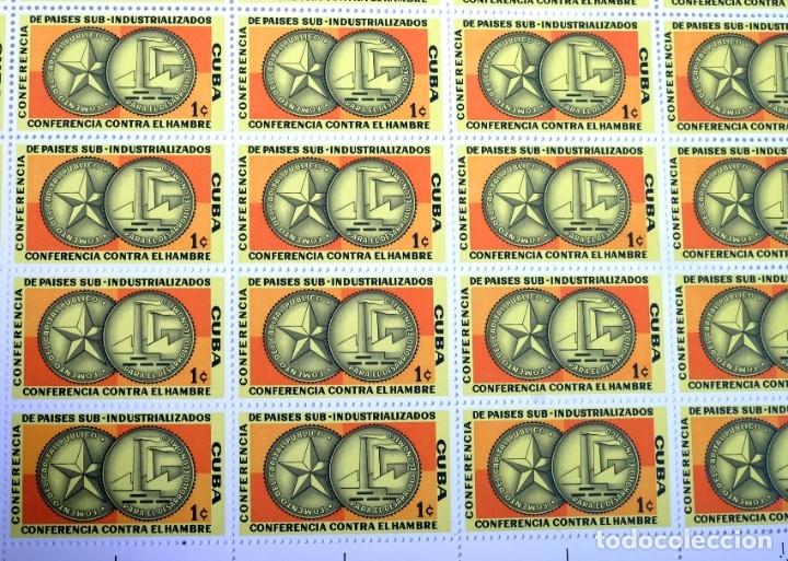 Sellos: 375 sellos cubanos en 11 pliegos. 1961/1970. Nuevos, con fijasello - Foto 9 - 180331002