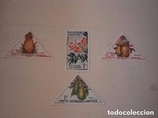 REPÚBLICA GABONESA - LOTE DE 4 SELLOS NUEVOS (Sellos - España - Colonias Españolas y Dependencias - América - Otros)