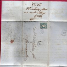 Sellos: CUBA.CARTA AÑO 1864.. Lote 180904030