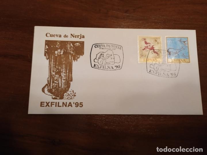 CUEVA DE NERJA EXFILNA 95 (Sellos - España - Colonias Españolas y Dependencias - América - Otros)