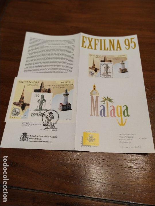 EXFILNA 95 MALAGA CENACHERO (Sellos - España - Colonias Españolas y Dependencias - América - Otros)