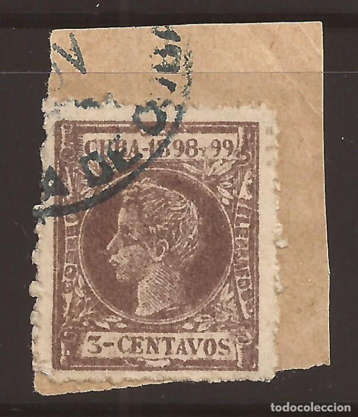 Sellos: FALSO POSTAL CUBA 3 CENTAVOS EDIFIL 161F - MUY RARO - CERTIFICADO GRAUS - Foto 2 - 183174203