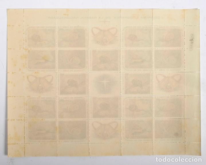 Sellos: Pliego sellos CUBA caracoles. Correos de Cuba. Navidad 1961/62 - Foto 2 - 183441467