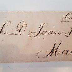 Sellos: CARTA CUBA A MATARO SELLO ISABEL 20 CENT 1869. Lote 186394123