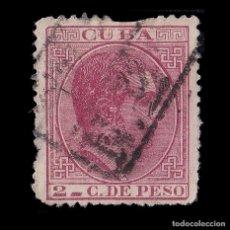 Sellos: CUBA.1882-3.AFONSO XII.2C CARMÍN.USADO.EDIFIL 69. ENVÍOS COMBINADOS.. Lote 186470053