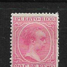 Sellos: PUERTO RICO 1894 EDIFIL 113 * - 3/1. Lote 187118665