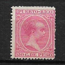 Sellos: PUERTO RICO 1894 EDIFIL 113 * - 3/1. Lote 187118681
