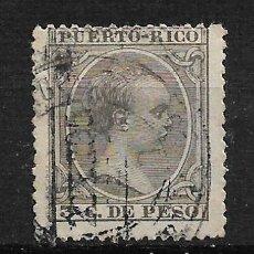 Sellos: PUERTO RICO 1894 EDIFIL 108 - 3/3. Lote 187216597