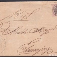 Sellos: ENVUELTA, HABANA - GUANAJAY, MARCA OFICIAL DE LA HABANA. . Lote 187454353
