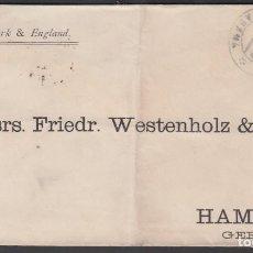 Sellos: CARTA COMERCIAL, HABANA HAMBURGO. ALEMANIA, 24 NOV. 1888. Lote 187454682