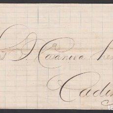 Sellos: ENVUELTA CIRCULADA DE LA HABANA - CADIZ, 25 JUN.1875 . Lote 187455118
