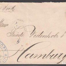 Sellos: CARTA CIRCULADA DE LA HABANA - HAMBURGO, ALEMANIA, 29 OCT. 1892. Lote 187456580