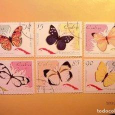 Sellos: 1995. CUBA - MARIPOSAS - 6 VALORES.. Lote 189778368