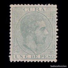 Sellos: CUBA.1883-88. ALFONSO XII.1CT.MH.EDIFIL.95. Lote 190515020