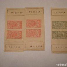Sellos: CUBA FISCAL 1894 Y 95. Lote 191329113