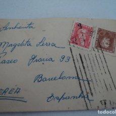 Sellos: SOBRE LACRADO,AÑOS 50, CON SELLOS DE BRASIL, . Lote 193059018
