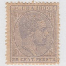 Sellos: 1880-41 CUBA ESPAÑA SPAIN. ANTILLAS. ALFONSO XII. 1880. ED.59A. 25C. GRIS. MNH.. Lote 193911481