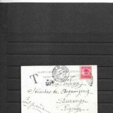 Sellos: CUBA 1905 OCUPACION NORTEAMERICANA POSTAL CIRCULADA A ESPAÑA MULTADA 30 CENTIMOS INMIGRANTE ESPAÑOL. Lote 194102603