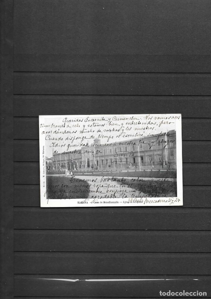 Sellos: CUBA 1905 OCUPACION NORTEAMERICANA POSTAL CIRCULADA A ESPAÑA MULTADA 30 CENTIMOS INMIGRANTE ESPAÑOL - Foto 2 - 194102603