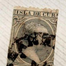Sellos: SELLO ISLA DE CUBA 1891/92 ALFONSO XIII 5 CENTAVOS VERDE Nº 127. Lote 198160718