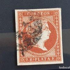 Selos: ANTILLAS, EDIFIL 9 , YVERT 10, 1857. Lote 198879620