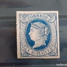 Selos: ANTILLAS, EDIFIL 11 * , YVERT 15, 1864. Lote 198883540