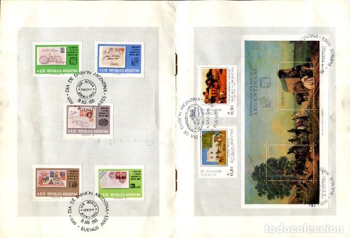 Sellos: EXPOSICION FILATELICA ARGENTINA 1985 - Foto 2 - 198933375