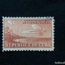 Sellos: SELLO CUBA, 8 C, CORREO AEREO, AÑO 1931. Lote 198943585