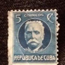 Sellos: SELLO CUBA, 5 C, CALISTO, AÑO 1929. Lote 198945856