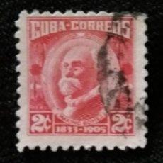 Sellos: SELLO CUBA, 2 C, MAXIMO GOMEZ, AÑO 1915. Lote 198948203