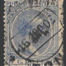 Sellos: PUERTO RICO, 1890 EDIFIL Nº 81. Lote 199074492