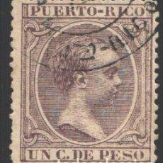 Sellos: PUERTO RICO, 1896-1897 EDIFIL Nº 106. Lote 199074822