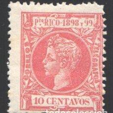 Sellos: PUERTO RICO, 1898 EDIFIL Nº 142 /*/, . Lote 199076473