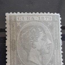 Sellos: CUBA , EDIFIL 54 (*), ERROR IMPRESIÓN, YVERT 32, 1879. Lote 199190831