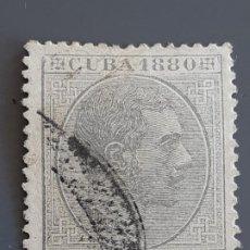 Francobolli: CUBA , EDIFIL 58 , YVERT 36, 1880. Lote 199193386