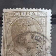 Francobolli: CUBA , EDIFIL 72 , YVERT 50, 1882-83. Lote 199210485