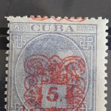 Timbres: CUBA , EDIFIL 74 ** , YVERT 52C, 1883. Lote 199211683