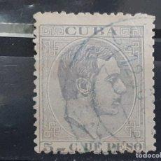 Francobolli: CUBA , EDIFIL 100 , YVERT 67, 1883-88. Lote 199260082