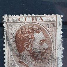 Francobolli: CUBA , EDIFIL 102 , YVERT 69, 1883-88. Lote 199260708