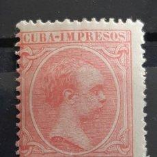 Timbres: CUBA , EDIFIL 131 * , 1894. Lote 199346280
