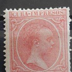 Timbres: CUBA , EDIFIL 133 **, 1894. Lote 199346820