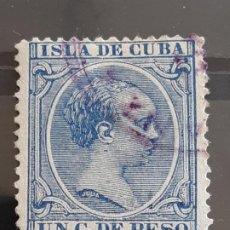 Francobolli: CUBA , EDIFIL 136 , YVERT 84 , 1894. Lote 199347725